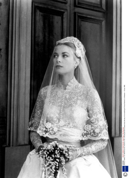 grace kelly wedding photos. Beauty Icon: Grace Kelly